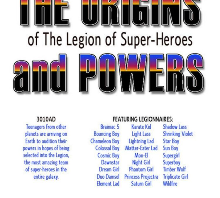 Legion of Super Heroes Origins & Powers
