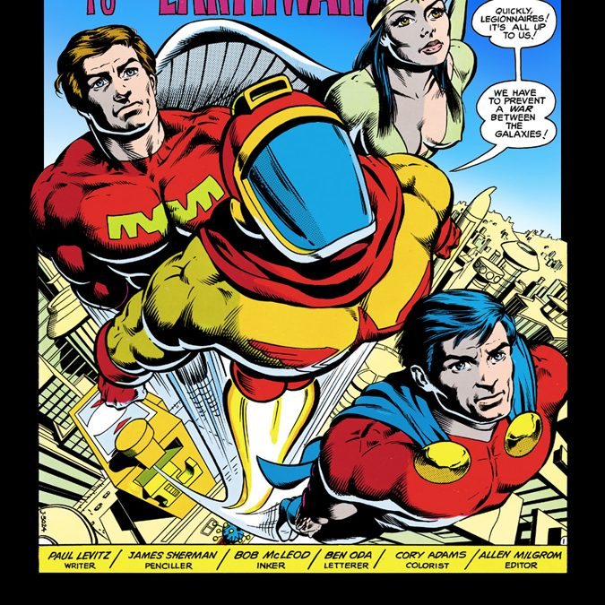 Legion of Super-Heroes Plus episodes 262 and 300/5