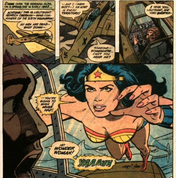 Wonder Woman vs Super Nazi